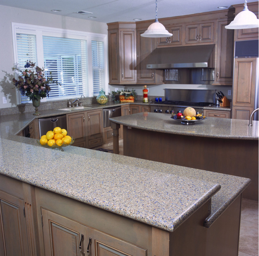 Blue Quartz Kitchen Countertops: Silestone Design Ideas