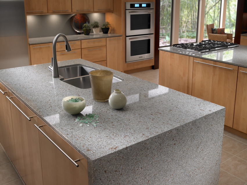 how to cut and polish quartz countertops