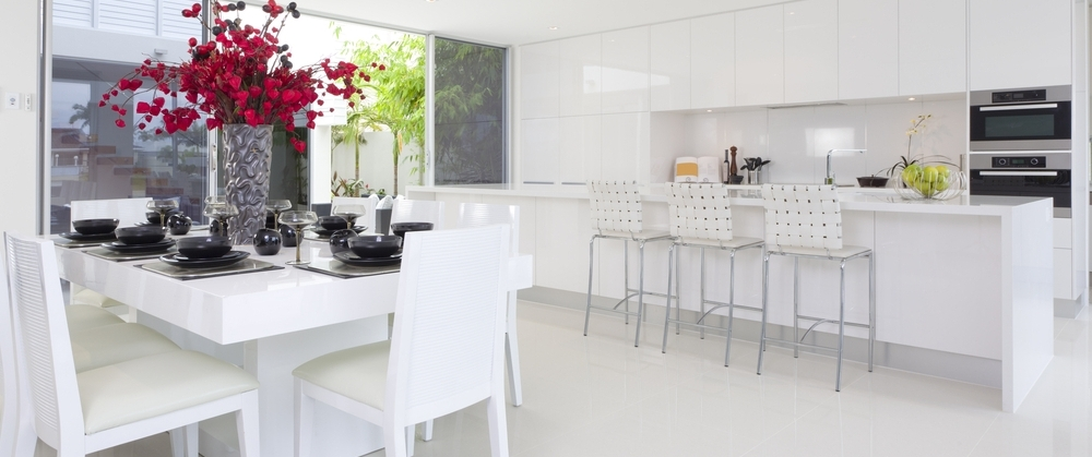 Kitchen Countertops in Silestone Colors White Zeus